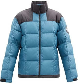 The North Face Lhoste Recycled-ripstop Down-filled Jacket - Blue Multi