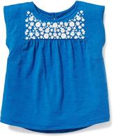 Old Navy Puff-Print Dolman-Sleeve Swing Top for Toddler Girls