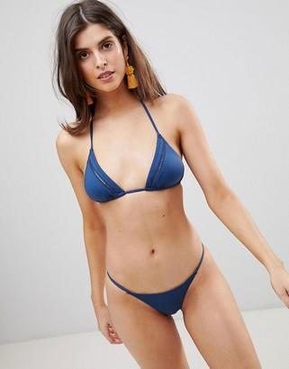rhythm My Slide Triangle Bikini Top