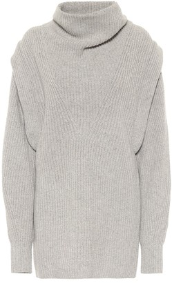Isabel Marant Prewitt cashmere and wool minidress