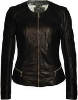 MAURITIUS - Women's Alea Leather Jacekt - Black