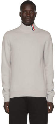 Moncler Grey Maglione Tricot Ciclista Sweater