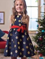 Boden Spot Jacquard Dress