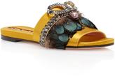 Rochas Bonita Embellished Sandal