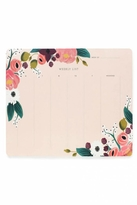 Rifle Paper Co. Floral Weekly Deskpad