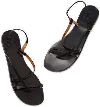 Atelier Atp ATP Lizza Black Leather Sandals
