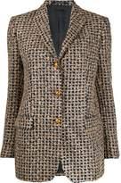 Tagliatore shimmering tweed blazer