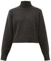 Proenza Schouler Roll-neck Cashmere Sweater - Womens - Charcoal
