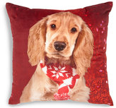 Marks and Spencer Christmas Spaniel Cushion