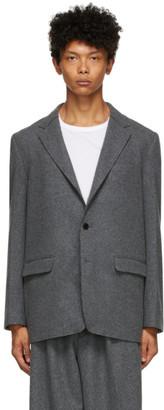 Fumito Ganryu Grey Bulky Jacket