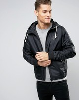 Blend of America Zip Thru Hooded Nylon Jacket