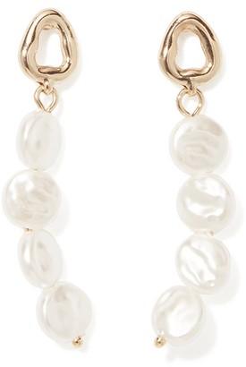 Forever New Drea Multi-Pearl Drop Earrings - Pearl - 00