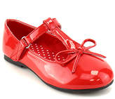Jelly Beans Red Ash T-Strap Flat