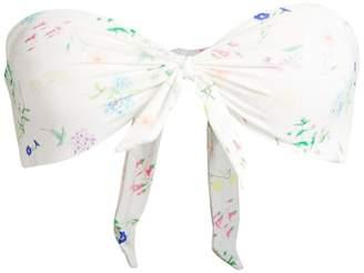 Paper London Go With The Flow Bandeau Bikini Top