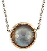Mother of Pearl Antonellis 18K Rose Gold 0.13 Ct. Tw. Diamond & Mother-Of-Pearl Necklace