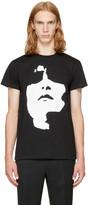 Neil Barrett Black Big Face T-Shirt