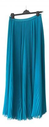 Prada Turquoise Silk Skirts