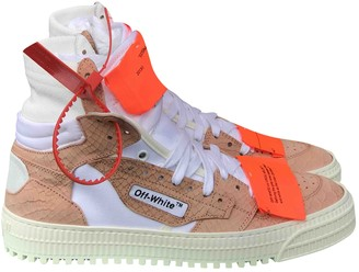 Off-White 3.0 Polo Pink Leather Trainers