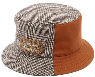 Ruslan Baginskiy Logo-embroidered Checked Bucket Hat - Multi