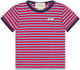 Gucci Baby striped cotton t-shirt with arrow