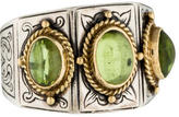 Konstantino Peridot Phoebe 3-Stone Ring