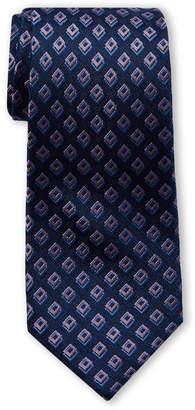 Michael Kors Purple Halo Square Silk-Blend Tie