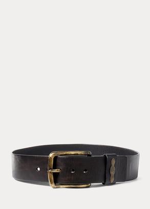 Ralph Lauren Single-Prong Leather Belt
