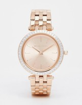 Michael Kors Rose Gold Midi Darci Watch 33 mm MK3366