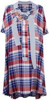 Antonio Marras oversize shirt dress - women - Cotton/Polyamide/Viscose - 42