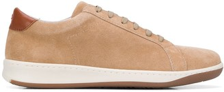 Eleventy Distressed Low-Top Sneakers