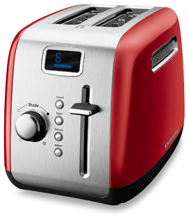 KitchenAid 2-Slice High-Lift Lever Toaster - Red