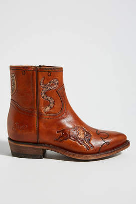 Frye Billy Tattoo Ankle Boots