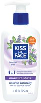 Kiss My Face Vitamin Enriched Moisture Shave with Essential Oils, Lavender & Shea - 11 oz