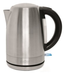 Salton 1.7 L Qt. Stainless Steel Cordless Electric Kettle