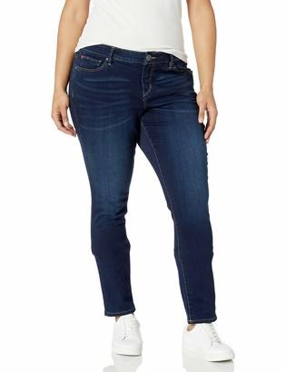 SLINK Jeans Women's Plus Size Amber Ankle Stephem 16