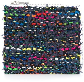 Coohem knit tweed medium wallet