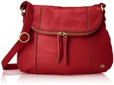 The Sak Deena Hobo Saddle Cross-Body Bag