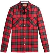 Burberry patch pockets tartan shirt