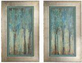 Uttermost Whispering Wind 2-piece Framed Wall Art Set