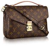 Louis Vuitton Authentic Monogram Canvas Pochette Metis Cross Body Bag Handbag Article: M40780