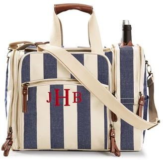 Mark And Graham Calistoga Insulated Wine Picnic Bag, Set for 4