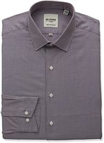 Ben Sherman Men's Unsolid Texture Shirt with Soho Spread Collar