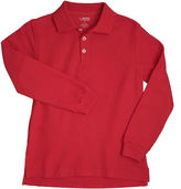 JCPenney French Toast Long-Sleeve Polo - Boys 8-20 and Husky