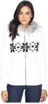 Spyder Soiree Hoodie Faux Fur Mid Weight Core Sweater