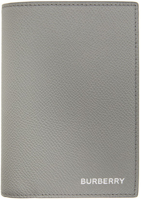 Burberry Grey 6 Card Bifold Wallet
