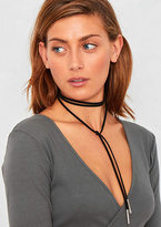 Missy Empire Serena Black Wrap Around Choker