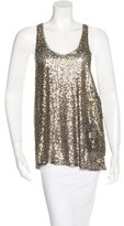 Edun Sequined Sleeveless Top w/ Tags