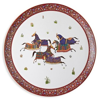 La Table Hermes Cheval D'Orient Large Round Tray