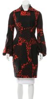 Giambattista Valli Wool Patterned Coat