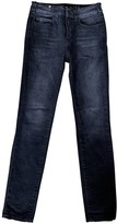 Notify Jeans Anthracite Cotton Jeans for Women